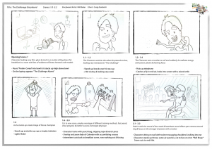 Storyboard - The Challenge